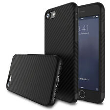 New Allergy-proof Carbon Fiber Pattern TPU Case Cover for Apple iPhone 7 Plus