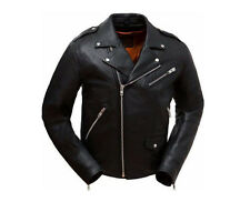 First Classic Enforcer Motorcycle Leather Jacket