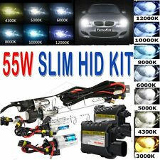 55W HID Xenon Headlight Conversion KITs OR  Bulbs H1/H3/H11/9005/9006/880/9004