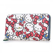 Hello Kitty x Freak Long Wallet Card Coin Case Purse Sanrio from Japan T6021