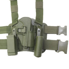 Airsoft Pistol Tactical Leg Holster Belt CQC Polymer for USP Style Pistol NEW