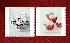 MARTHA STEWART CRAFTS Die-Cut Cupcake Wrappers - 2 STYLES to Choose From!