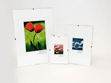 Photo Picture Poster Clip Frames - Small / Big / Large, Frameless Frame