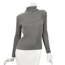 SPECCHIO PLEATS Turtleneck long sleeves basic top womens size s m l xl 2x 3x NWT