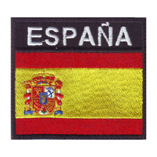 SPAIN BADGE FLAG EMBROIDERED  PATCH