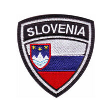 SLOVENIA CREST FLAG EMBROIDERED PATCH