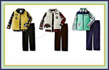 WonderKids Toddler 4T Boys Vest, Shirt & Pants NEW with Tags, 3 Styles to Choose