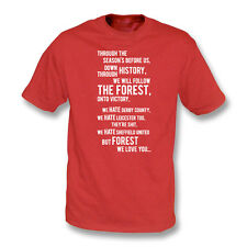 We All Follow The Forest T-Shirt (Nottingham Forest), Premium Gildan