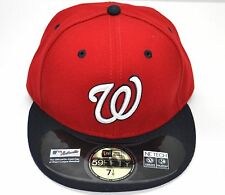 NEW ERA MLB WASHINGTON NATIONALS ALT2 AC ON FIELD 59FIFTY FITTED BASEBALL CAP