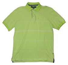 K52432 Nautica 100% Cotton Striped Oxford Mens Golf Polo Shirt