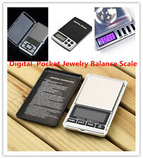 Hight Quality 500g x 0.01g Digital Pocket Jewelry Balance LCD Scale QJ