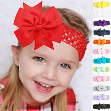 Children Girl Toddler Lace Bowknot Headband Hair Band Headwear Accessories Hot
