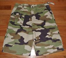 NEW NWT Polo Ralph Lauren Surplus Boys Camouflage Camo Cargo Shorts *3S