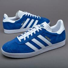 ADIDAS ORIGINALS GAZELLE S76227 CORE ROYAL BLUE/WHITE/GOLD METALLIC - SUEDE