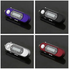 New 8GB USB 2.0 Flash Drive LCD MP3 Music Player With FM Radio Voice Recorder BU