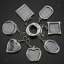 Vintage Photo Frame Keychain Keyring Charm Pendant for Handbag Car Handing Decor