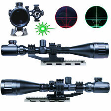 6-24x50 AOEG Red G/ Reticle Hunting Tactical Rifle Gun Scope Mil Dot Illuminated