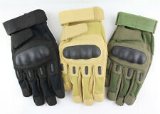 Military Airsoft  Gloves Shooting Outdoor Motorcycle Armed Full Finger Tactical