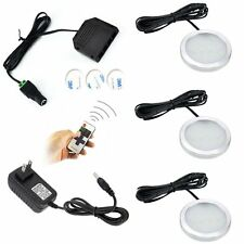 Dimmable LED Under Cabinet Lighting 3 Lights Kit Fixture with RF Remote Control