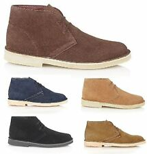 Classic Mens Real Suede Leather Stylish Desert Ankle Casual Boot Shoes Size