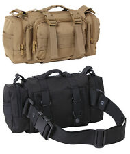 Tactical Shoulder Bag Fanny Pack Convertipack Black or Coyote Rothco