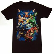 DC Comics JUSTICE LEAGUE Batman,Superman,Flash,Green Lantern T-Shirt NWT