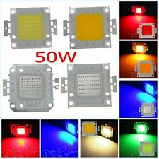 High Quality 50W SMD Super Bright White/RGB LED Lamp Bead Chip For Flood Light