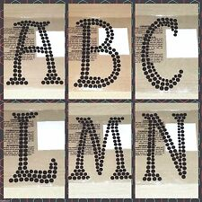 RECOLLECTIONS Craft-It Halloween 6-inch Black Rhinestone Adhesive Letters
