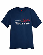 Powered by Taurine Energy Drink Red Bull T-Shirt Tee w/Free Sticker!! FREE S&H!!