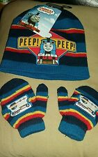 thomas the tank engine hat and gloves set age 6-23 months. BMWT
