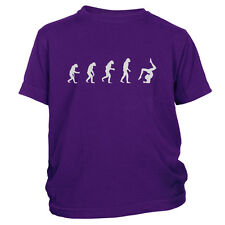 Girl's Evolution Of Woman To Gymnast T-Shirt Kids Gymnastics Team Gift Tee Shirt