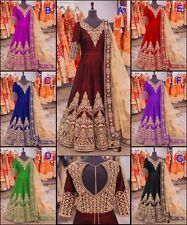 Bollywood designer Party Anarkali Pakistani suit Indian salwar‎ kameez Ethnic