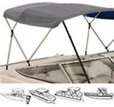 "3 Bow Low Profile Bimini Tops Fits 72"" L X 36"" H X  79 "" to 84 "" Wide"