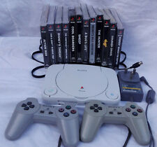 PS one Sony Playstation Family Bundle 12 Games Simpsons Wrestling, Cool Boarders