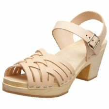swedish hasbeens 830 Womens Braided High Ankle Strap- Choose SZ/Color.