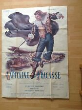 vintage film french poster