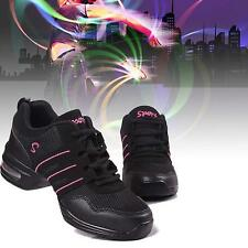 Fashion Women Modern Jazz Dance Shoes Sports Sneakers Hip Hop Breathable 2 Color