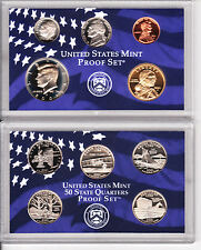2001 S United States Mint Proof Set Original Box & COA Issued  10 Coins