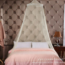 Newest Bed Mosquito Netting Mesh Canopy Princess Round Dome Lace Bedding Net