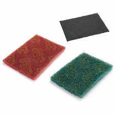 3 Color 1/5/10/20pcs Scotch-brite Scoch Abrasive Finishing Pads Ceaning Scouring