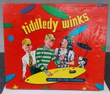 "Vintage Transogram Co. ""Tiddledy Winks"" and other board games"