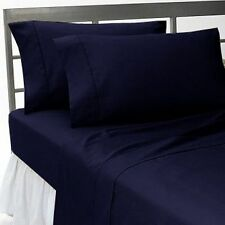 HOTEL QUALITY BEDDING ITEMS 1000TC EGYPTIAN COTTON SELECT SIZE/ITEM-NAVY BLUE