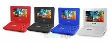 Pyle 9'' Portable DVD Player, Built-in Rechargeable Battery, USB/SD Card Reader