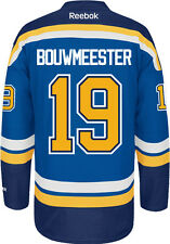 Jay Bouwmeester St. Louis Blues Reebok Premier Home Jersey NHL Replica