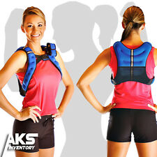 Weighted Vest 12 Pound Adjustable Training Workout Exercise Weight Fitness New