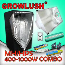 Digital Ballast Hydroponics Grow Kit 400/600/1000w HPS MH Grow Tent Setup