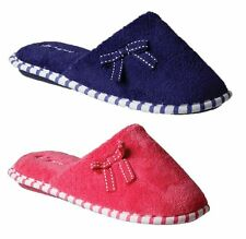 NEW WOMENS LADIES GROSBY - TERRI SLIPPERS FLATS SUEDE SLIP ON FLAT SHOES SHOE