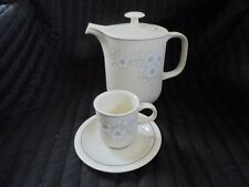 """Hornsea """"Bouquet"""" Coffee Pot, Cup And Saucer"""