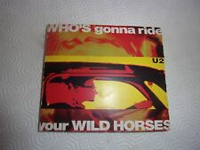 U2 - Very Rare digipack cd: Who's Gonna Ride Your Wild Horses with 4 postcards