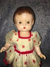 """Vintage 11"""" Effanbee Patsy Jr Doll Jointed Composition Compo"""